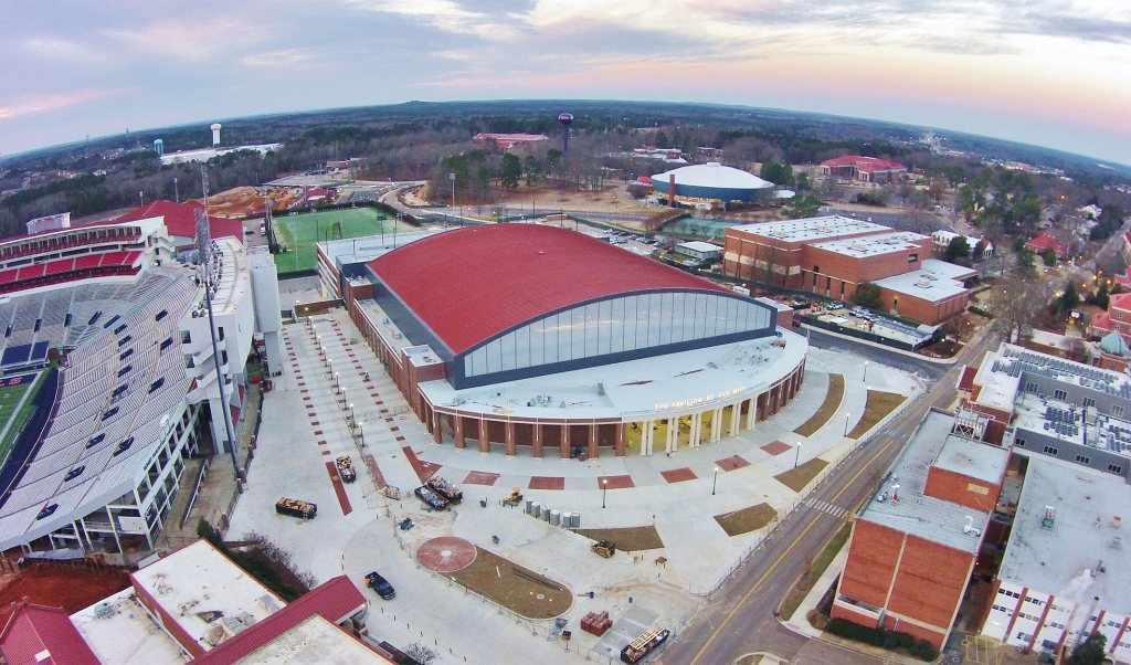 Ole Miss Roofing Job
